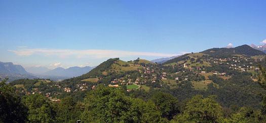 Panorama sur Venon (38610)