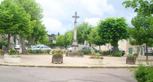 Place de Saint-Jean-de-Vaulx (38220)