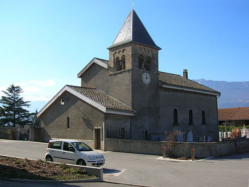 Église de la ville Champagnier (38800)