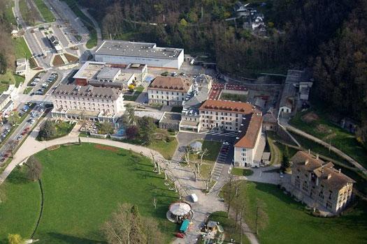 Vue aérienne de Saint-Martin-d'Uriage (38410)