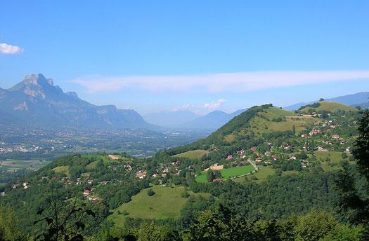 Vue de Venon (38610)