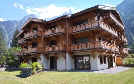 Achat appartement Chamonix dans immeuble type chalet
